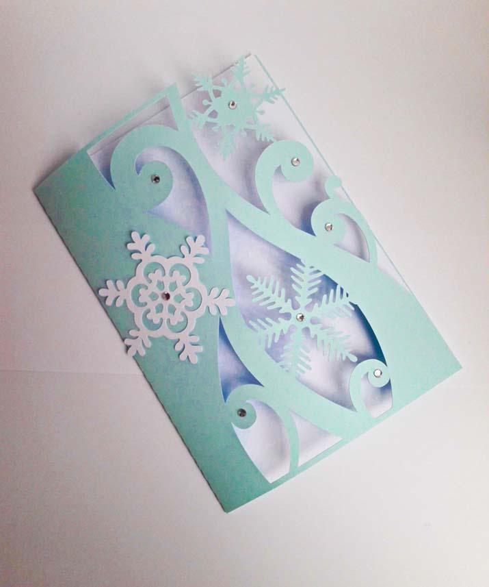 inviti per feste partecipazioni matrimonio inverno neve