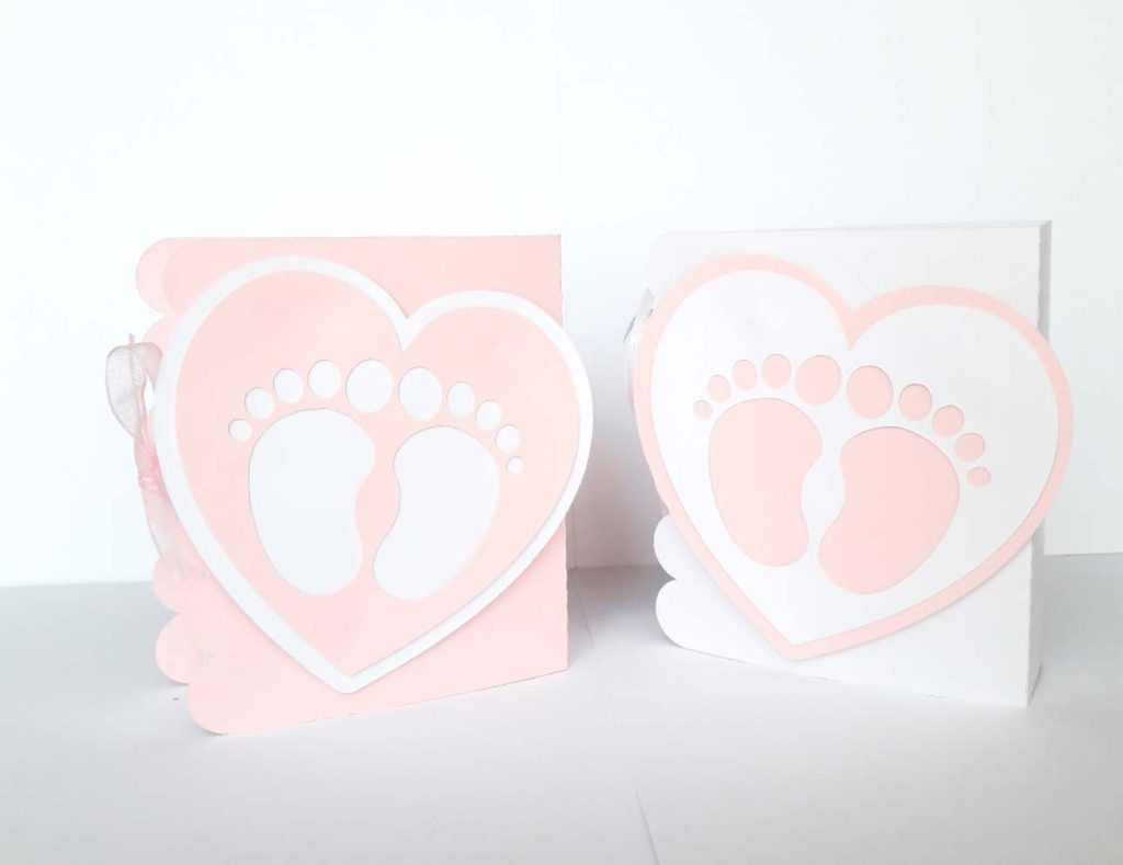 bomboniere primo compleanno bambina con piedino