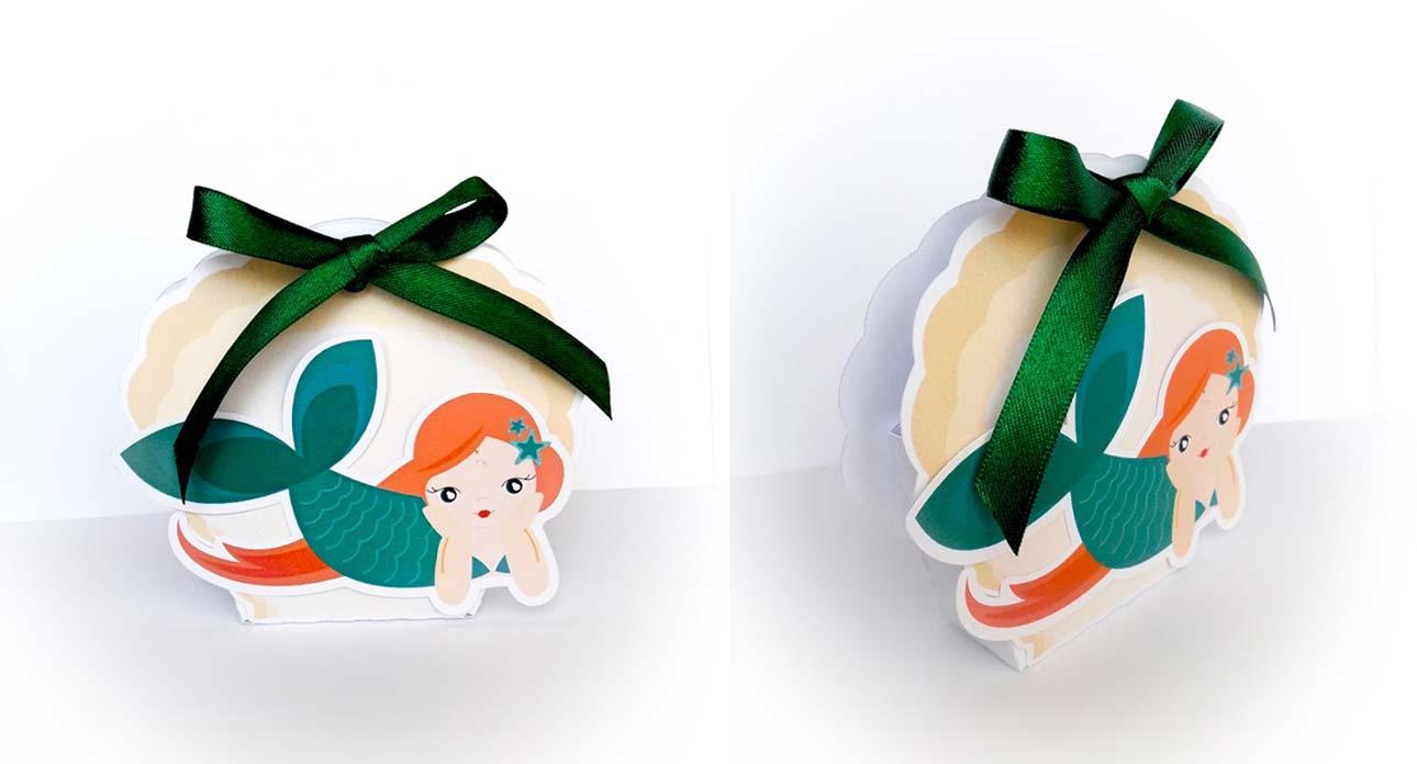 primo compleanno bomboniere bambina sirena